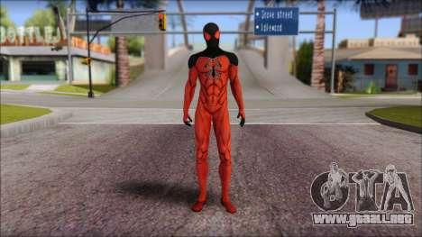 Scarlet 2012 Spider Man para GTA San Andreas