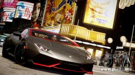 Lamborghini Huracan LP610-4 SuperTrofeo para GTA 4 vista desde abajo