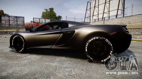 McLaren 650S Spider 2014 [EPM] Goodyear para GTA 4 left