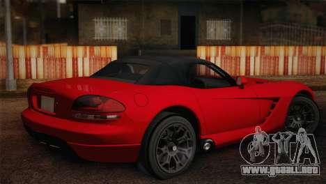 Dodge Viper SRT-10 2003 para GTA San Andreas left