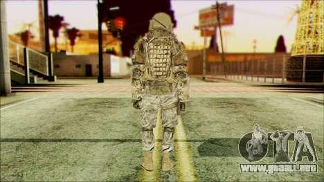 Ranger (CoD: MW2) v3 para GTA San Andreas segunda pantalla
