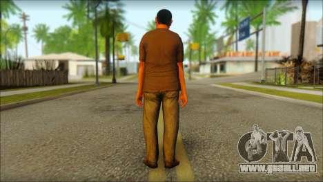 GTA 5 Ped 19 para GTA San Andreas segunda pantalla