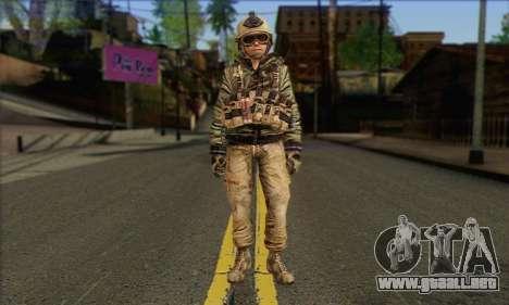 Task Force 141 (CoD: MW 2) Skin 17 para GTA San Andreas