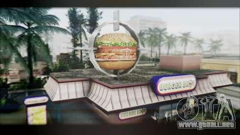 Graphic Unity V2 para GTA San Andreas octavo de pantalla