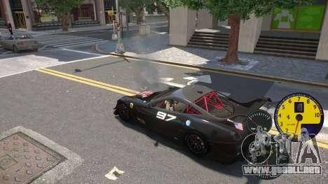 Los Sensores De La Máquina para GTA 4 segundos de pantalla