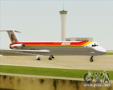 McDonnell Douglas MD-82 Iberia para las ruedas de GTA San Andreas