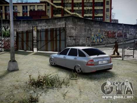 VAZ 2172 para GTA 4 Vista posterior izquierda