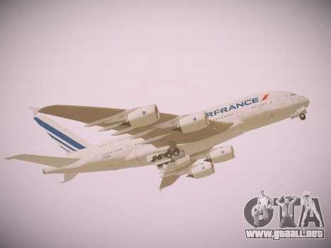 Airbus A380-800 Air France para GTA San Andreas left