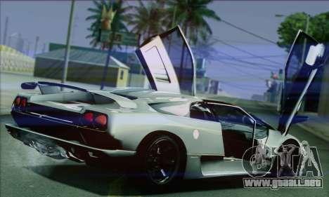 Lamborghini Diablo SV 1997 para la visión correcta GTA San Andreas