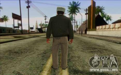 La Policía De Rusia De La Piel 3 para GTA San Andreas segunda pantalla