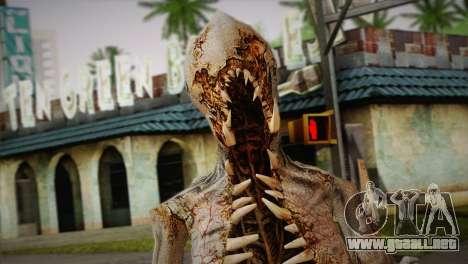 Monstruo del juego Dead Spase 3 para GTA San Andreas tercera pantalla