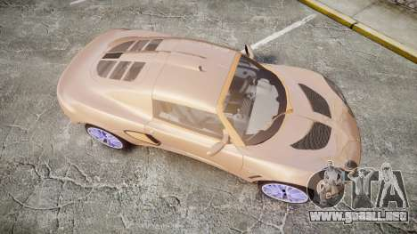 Lotus Exige para GTA 4 visión correcta