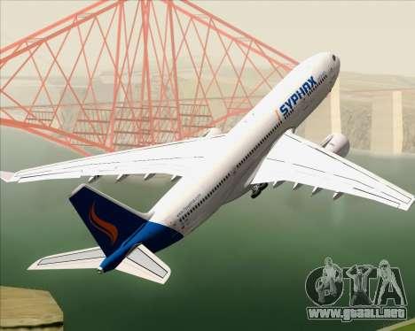 Airbus A330-200 Syphax Airlines para el motor de GTA San Andreas