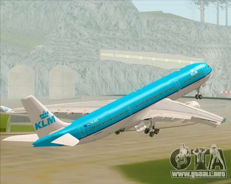 Airbus A330-300 KLM Royal Dutch Airlines para GTA San Andreas