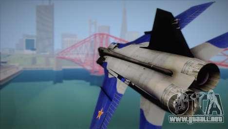 MIG-31 from H.A.W.X. para la visión correcta GTA San Andreas
