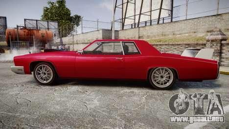 Albany Buccaneer Modified para GTA 4 left