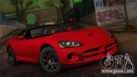 Dodge Viper SRT-10 2003 para GTA San Andreas