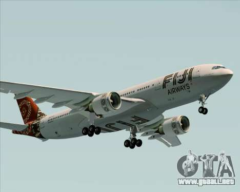 Airbus A330-200 Fiji Airways para visión interna GTA San Andreas