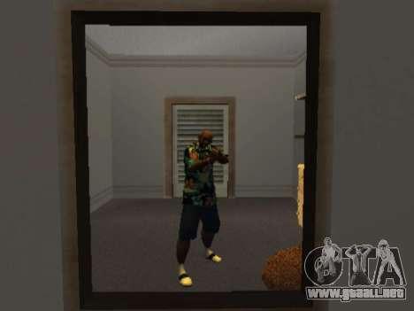 Camisa hawaiana como max Payne para GTA San Andreas segunda pantalla