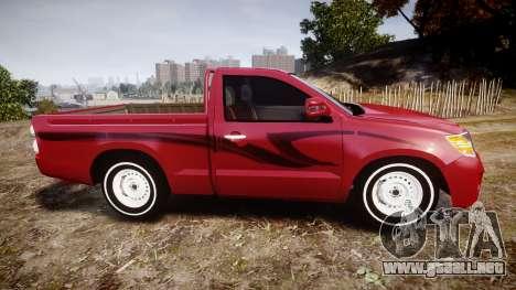 Toyota Hilux 2014 para GTA 4 left