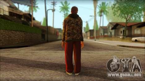 GTA 5 Ped 9 para GTA San Andreas segunda pantalla