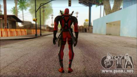 Classic Deadpool The Game Cable para GTA San Andreas segunda pantalla