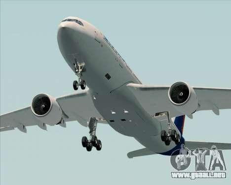 Airbus A330-200 Syphax Airlines para visión interna GTA San Andreas
