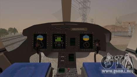 Bell 429 v2 para GTA San Andreas vista posterior izquierda