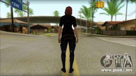 Mass Effect Anna Skin v7 para GTA San Andreas segunda pantalla