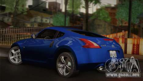 Nissan 370Z para GTA San Andreas left