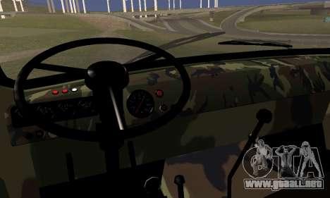 UAZ 452 para GTA San Andreas vista posterior izquierda