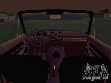 LADA 1500S 1973 para visión interna GTA San Andreas