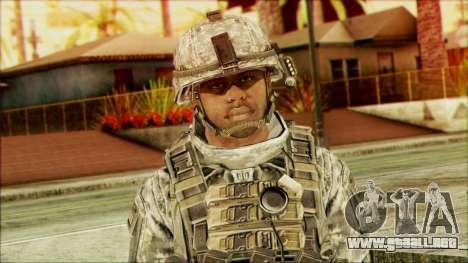 Ranger (CoD: MW2) v5 para GTA San Andreas tercera pantalla
