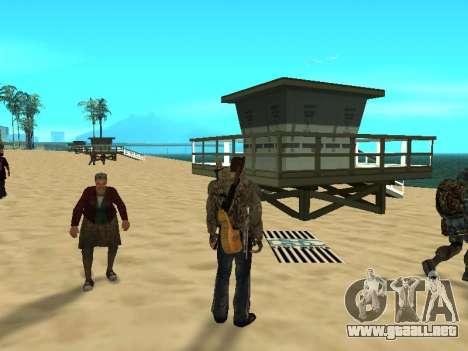 Nuevas alfombras en la playa para GTA San Andreas tercera pantalla