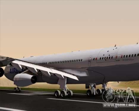 Airbus A340-311 House Colors para el motor de GTA San Andreas