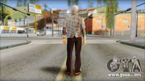Doc from Back to the Future 1955 para GTA San Andreas segunda pantalla