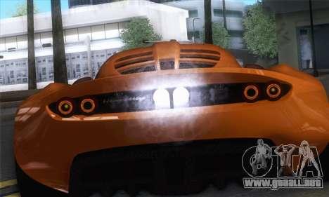 Hennessey Venom GT para la visión correcta GTA San Andreas