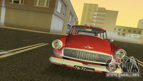 GAS 22 Volga 1965 para GTA Vice City left
