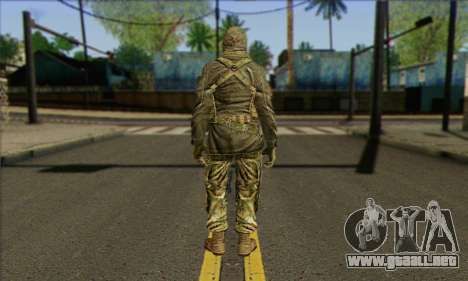Task Force 141 (CoD: MW 2) Skin 12 para GTA San Andreas segunda pantalla