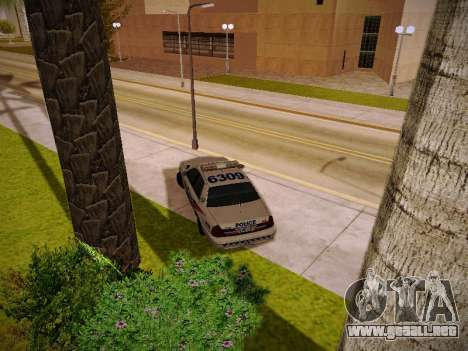 Ford Crown Victoria Toronto Police Service para visión interna GTA San Andreas