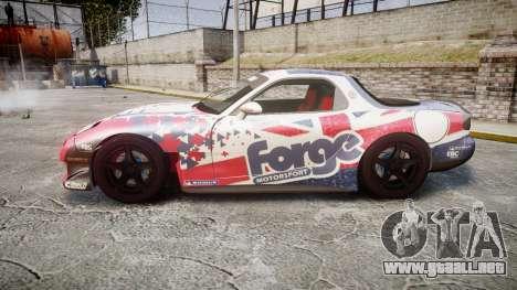 Mazda RX-7 Forge Motorsport para GTA 4 left
