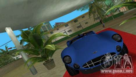 Aston Martin DBR1 para GTA Vice City vista lateral izquierdo