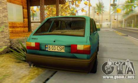 Dacia 1310 Liberta v1.1 para GTA San Andreas vista posterior izquierda