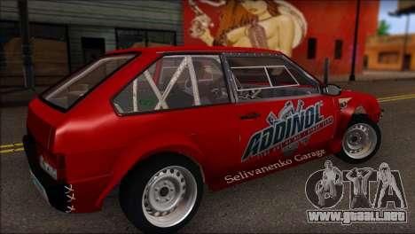 VAZ 2108 Deporte para GTA San Andreas left