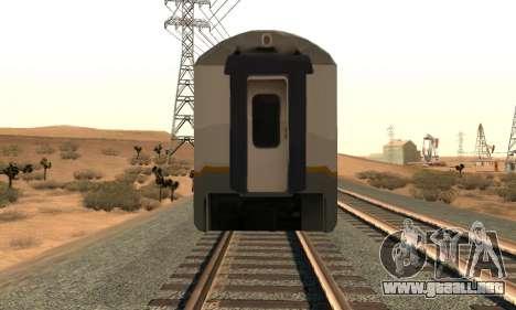 K1 Argo Traincar De Indonesia para la visión correcta GTA San Andreas