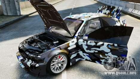 BMW M3 E46 Emre AKIN Edition para GTA 4 visión correcta