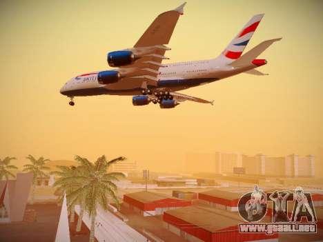 Airbus A380-800 British Airways para el motor de GTA San Andreas