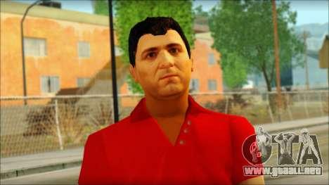 Michael from GTA 5v3 para GTA San Andreas tercera pantalla