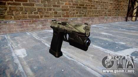 Pistola Glock 20 benjamins para GTA 4