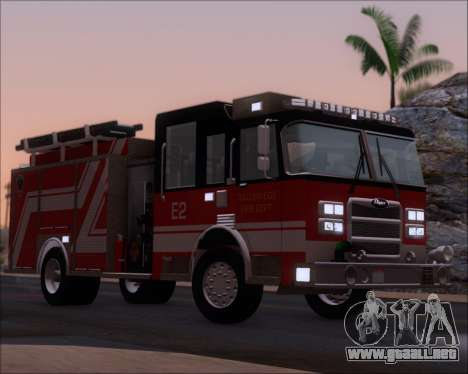 Pierce Arrow XT TFD Engine 2 para vista inferior GTA San Andreas